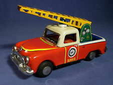 NEKUR Blech Kranwagen Türkei kalay oyuncak Turkmali Turkey Tin Toy 60's F177