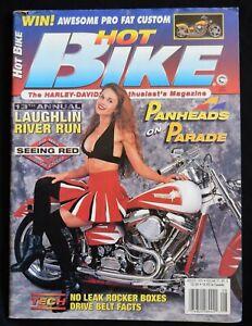 HOT BIKE MAGAZINE - AUGUST 1995 - LAUGHLIN RIVER RUN