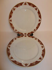 2 x Dudson Duraline Super Vitrified Hotel Ware 23cm Salad Plates - Lovely