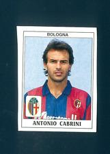 Figurina Calciatori Panini 1989/90 N.66! Cabrini! Bologna! Nuova con Velina!!