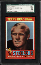 1971 Topps #156 Terry Bradshaw SGC 7.5 Near Mint+ RC Rookie Steelers   ID:265184