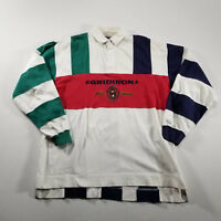 VTG AE Sport Rugby Shirt American Eagle XL Gridiron All-Stars LS Colorblock
