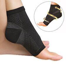 Plantar Fasciitis Compression Ankle Socks Open Toe Up To Size UK 11 Unisex