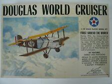 Williams Bros Douglas World Cruiser 1:72 Scale Model Airplane Kit, #424