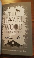 THE HAZEL WOOD 1st Edition Hardback Book Signed MELISSA ALBERT Target Exclusive