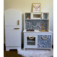 IKEA DUKTIG removable Decal adhesive sticker furniture waving shells tropical