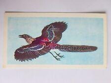 Brooke Bond Prehistoric Animals tea card 29. Archaeopteryx. Dinosaurs.