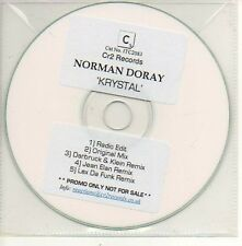(829D) Norman Doray, Krystal - DJ CD