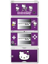 Hello Kitty Autocollant Peau Vinyle Pour Nintendo DSi-Violet