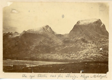 Norvège, Norway, Søvik, vue générale les environs et les roches   Vintage albume