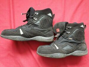 Hein Gericke Goretex Suede Textile Motorcycle Ankle shortie Boots UK 6  EU 40