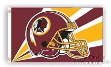 Washington Redskins 3x5 HELMET Flag Outdoor Banner with grommets Football