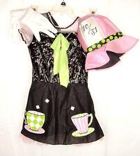 SassyScene Mad Hatter Alice in Wonderland Halloween costume cosplay L 10-12