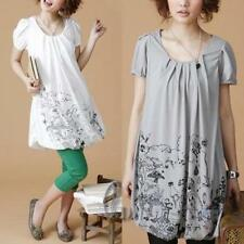 Cotton Short Sleeve Petite Tops for Women