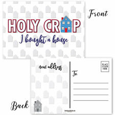 I Bought A House - New Home Postcards - 50 Moving Postcards - B17011
