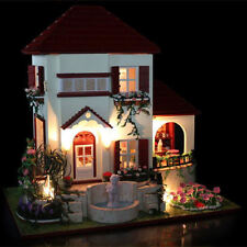 Handmade Modern 3 Rooms Houses for Dolls
