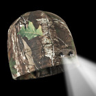 REALTREE Panther Vision Powercap Fleece Beanie w/4 LED Lights CAMOUFLAGE 3550