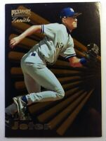 1996 96 Pinnacle Zenith Derek Jeter #93, New York Yankees, HOF