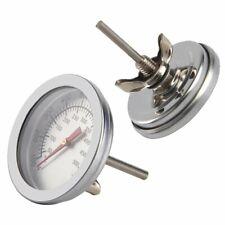 50~500°C Edelstahl Thermometer Backofen Grill Ofen Küchen Bratenthermometer