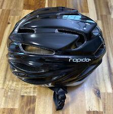 KASK Cycling Helmet- RAPIDO-Black/Black Size Large