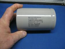 One NOS Mepco 30000uF 60V Large Can Electrolytic Capacitor 3186GF303U060BMA2