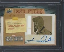 Marvel Agent Carter SSR Files Autograph #SSR-LR Leonard Roberts as Samual Sawyer
