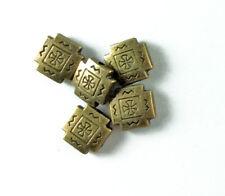 10mm Santa Fe Tile Square Bead Findings • Q30 • You Pick Color