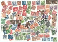 Sweden postage stamps  x 143, off paper