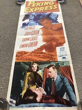 Peking Express (1951) Original US Insert Cinema Poster