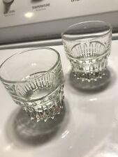 2 Vintage Duratuff Scotch Glasses 5 Oz. (1Pair)
