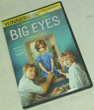 Big Eyes DVD Tim Burton dvd