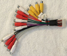 s l225 clarion standard car audio and video wire harness ebay clarion max675vd wiring harness at soozxer.org
