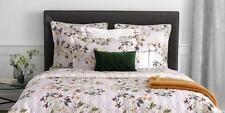 NWT NEW Yves Delorme Louise Amande UK Queen duvet cover 94 x 87""