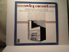 """Swing Concert"" Carnegie Hall Concerts 1938-1939. Record Album, 1979."