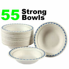 55  Chinet Super Strong Disposable Bowls Wedding / Party Functions Etc