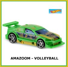 GREEN Amazoom Volleyball Car. 2016 HW Games. DHT27. NEW, in Blister Package!