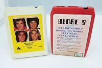 1970s 8-Track Tapes Set of 2 Tony Defranco Family Bay City Rollers Greatest Hits