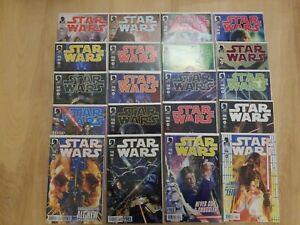 STAR WARS Dark Horse Comic LOT (2013) #1-20 Complete Series VF-NM