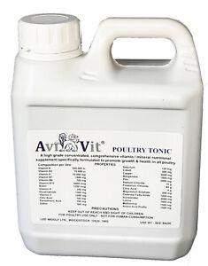 AviVit Poultry Tonic - Professional Grade Vitamin / Mineral health supplement
