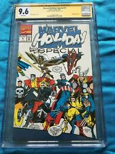 Marvel Holiday Special 1991 - Marvel - CGC SS 9.6 NM+ - Signed by Art Adams