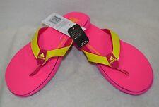 Adidas Girl's Flexigirl SC Plus xJ Pink/Yellow Flip Flops Sandals-Asst Sizes NWB
