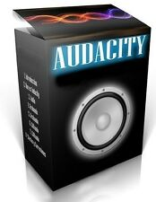 AUDACITY - PROFESSIONAL AUDIO RECORDING & EDITING SOFTWARE - No.1 AUDIO PACKAGE