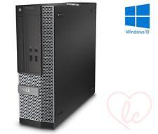 Dell Computadora OptiPlex Hdmi Ultra Rápido Barato Core i5 8 GB 250 GB HDD Windows 10 PC