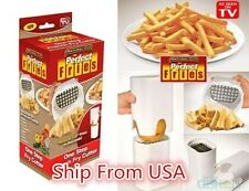 Perfect Fries One Step Natural French Fry Cutter Vegetable Fruit Durable Po