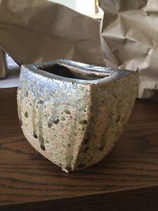 mid century Modern MCM art pottery vase school of Bernard Leach No Reserve