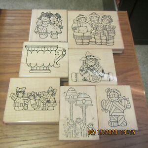 Big Lot of CTMH Stamps -- Great Condition