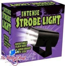 MINI 18 LED ADJUSTABLE STROBE LIGHT Haunted House Club Disco DJ Halloween Party