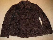 BELLISSIMA giacca marrone pronta per le fredde notti fuori Taglia M