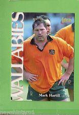 1996 RUGBY UNION  CARD #28 MARK HARTILL, WALLABIES
