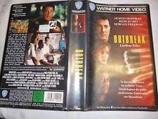 Outbreak Lautlose Killer Dustin Hoffman VHS Frei ab 12 Jahren gebr.